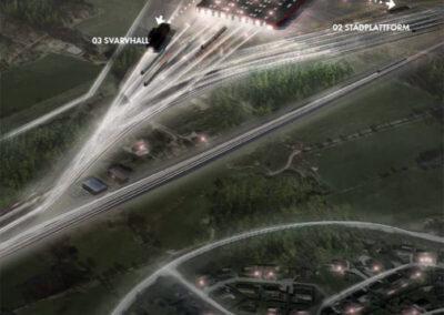 Järnvägsdepå Hässleholm